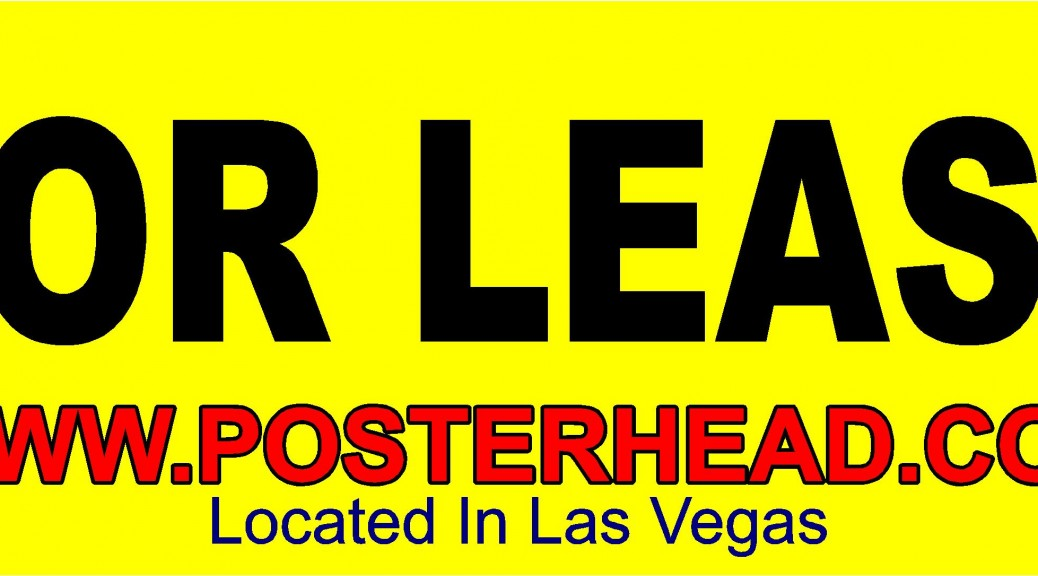 For rent banners las vegas