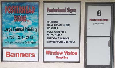 Las Vegas Nevada Window Graphics