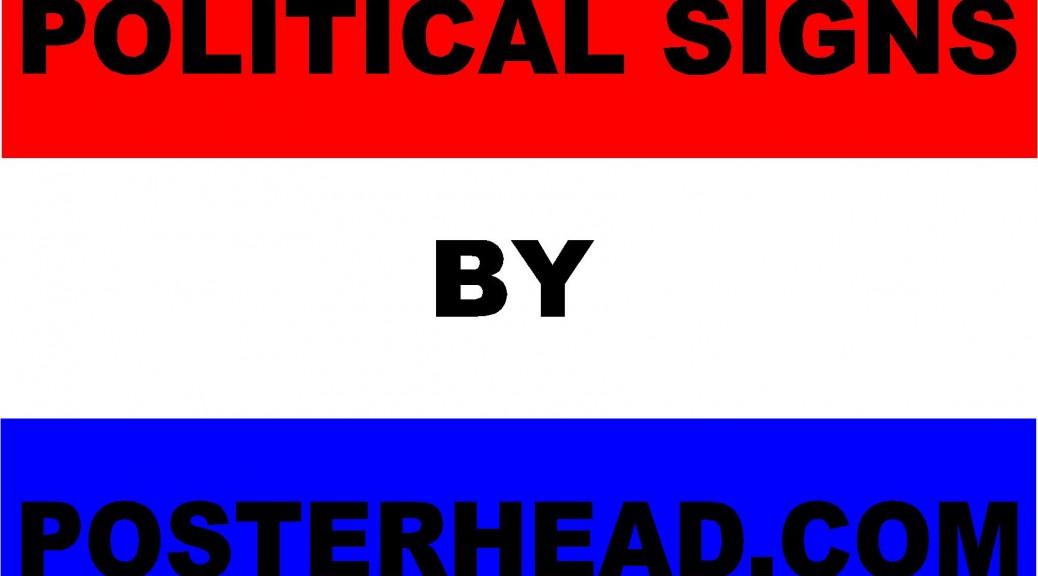 Vegas Political Signs