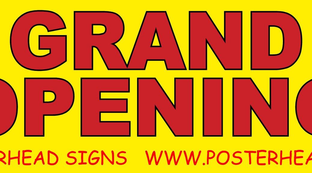grand opening sample banner las vegas