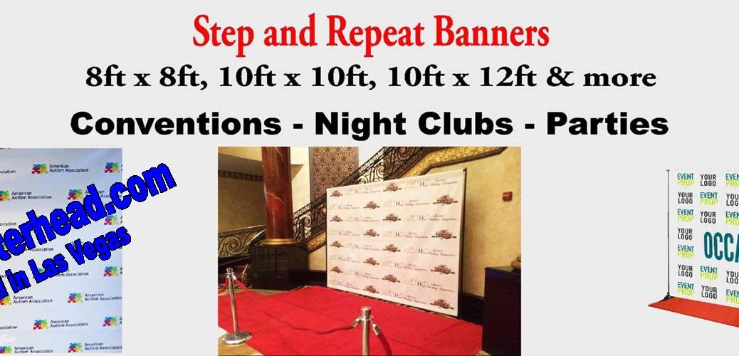Backdrop Step and Repeat Banners