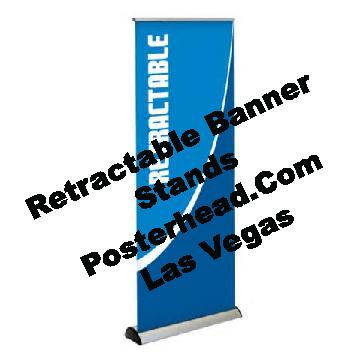 Banner Stand Signs in Las Vegas