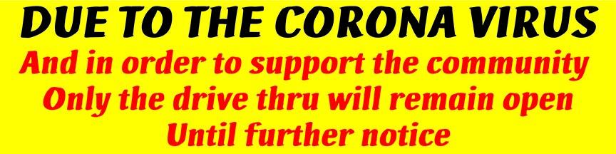 CORONAVIRUS Banner by posterhead.com