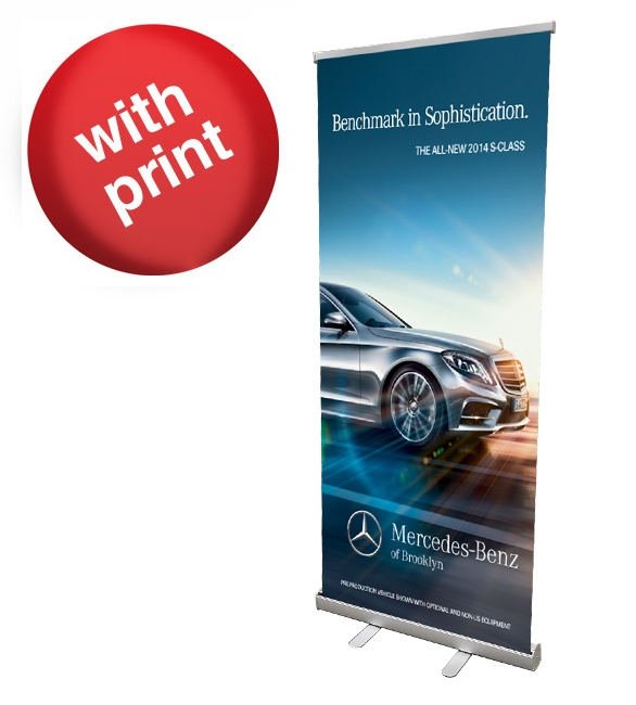 Retractable Roll Up Banner 33 Quot X 78 Quot Posterhead Signs