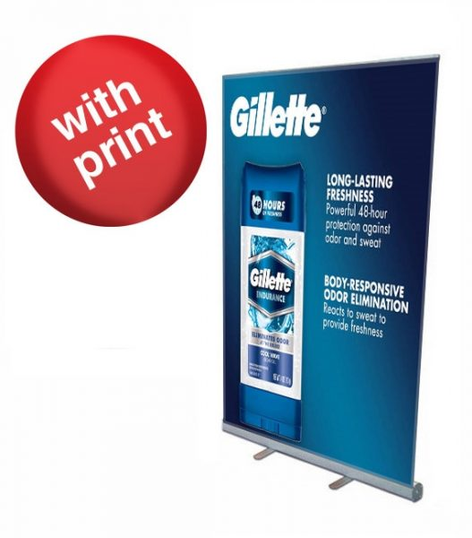 Retractable Roll Up Banner 47″ x 78″