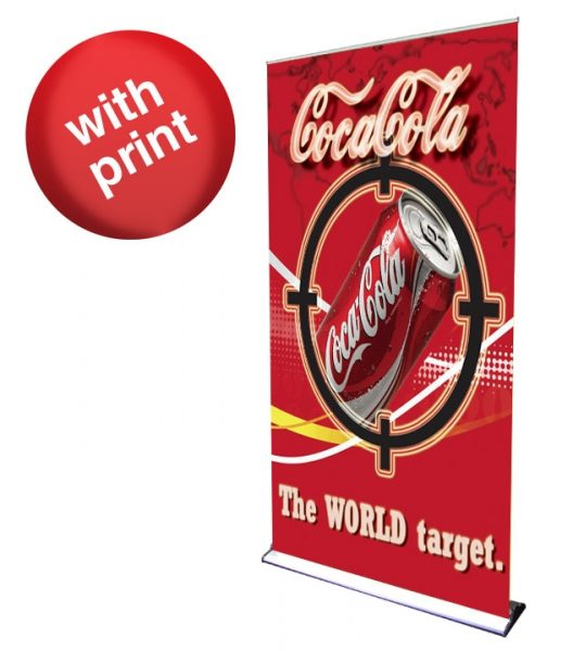 HD Premium Retractable Roll Up Banner 48″ x 92″