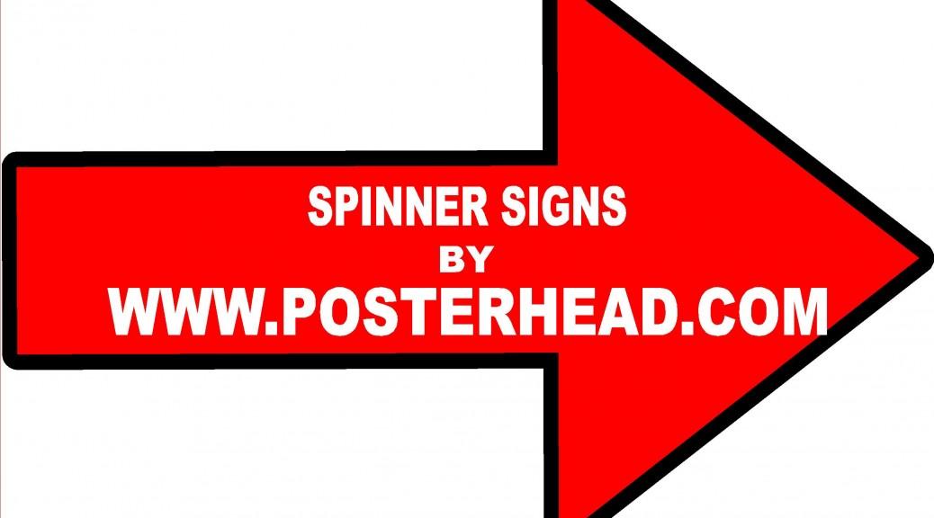 Las Vegas Spinner Signs
