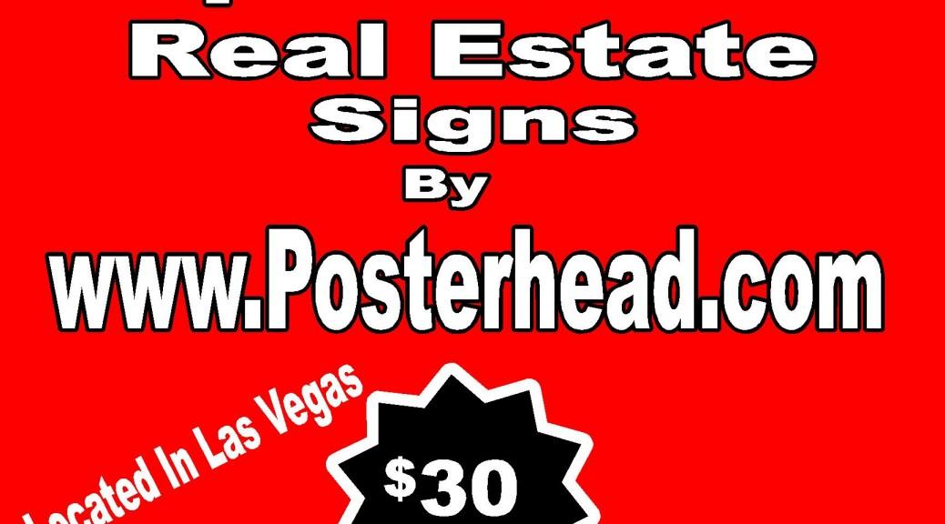 Realtor Signs