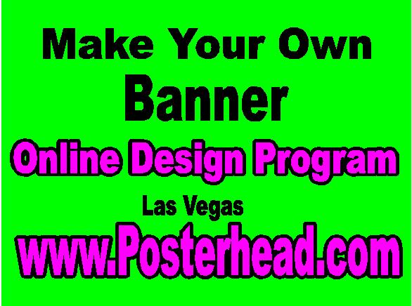 Make Your Own Sign Online in Las Vegas