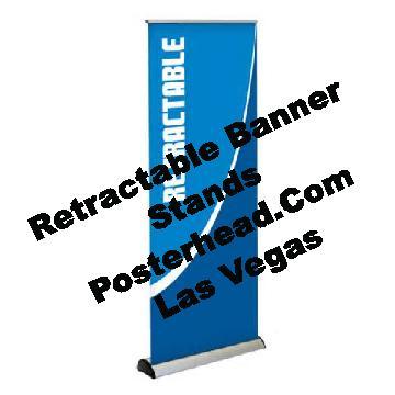 Same Day Retractable Banner Sign Las Vegas by Posterhead.com