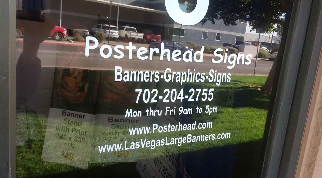 Vegas Store Sign Lettering