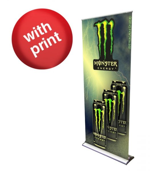 HD Premium Retractable Roll Up Banner 36″ x 92″